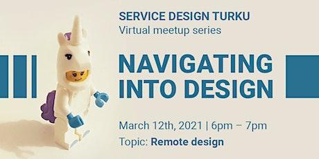 Service Design Turku: Navigating Into Design tickets