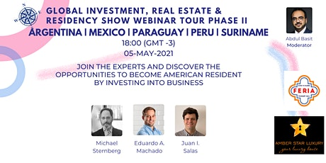 Global Investment, Real Estate & Residency Show II | ARG | MEX | PRY | PER tickets