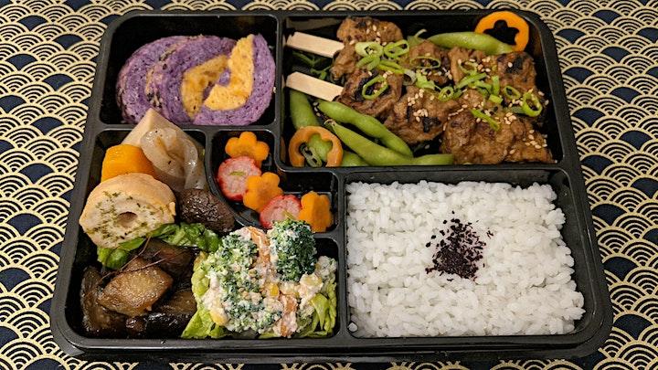 Japanese Bento Hina-Matsuri special: 3 March plant-based takeaway image