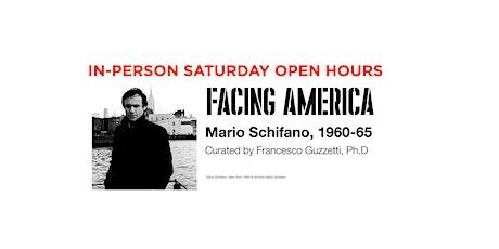 APRIL SATURDAY •• open hours •• Facing America: Mario Schifano 1960–1965 tickets