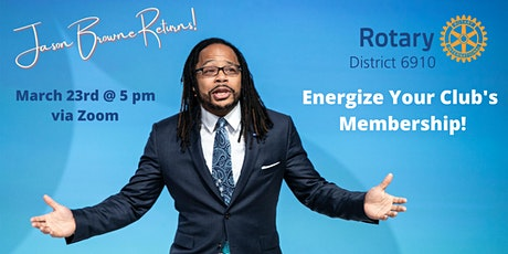 Energize Your Club's Membership tickets