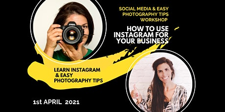 Social Media & Easy Photography Workshop tickets
