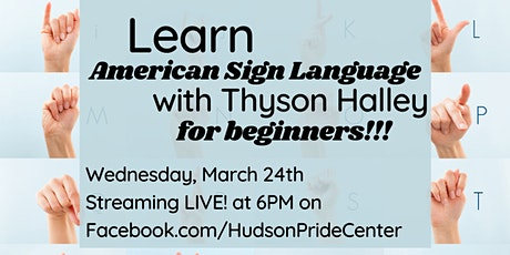 American Sign Language for Beginners! tickets