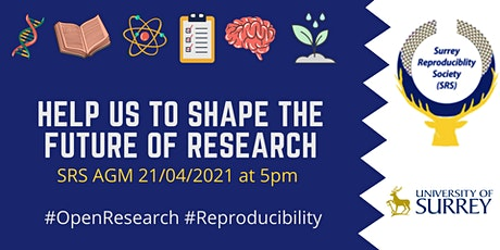 Surrey Reproducibility Society Annual General Meeting tickets