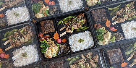 Japanese Bento Hina-Matsuri special: 3 March plant-based takeaway tickets