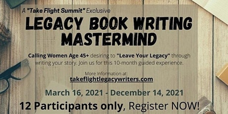 Legacy Book Writing Mastermind tickets