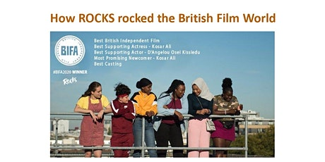How ROCKS rocked the British Film World tickets