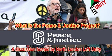 The Peace and Justice Project - an open disucssion tickets