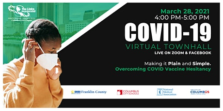 COVID-19 Vaccine Town Hall: Overcoming COVID Vaccine Hesitancy tickets