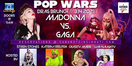 POP WARS Drag Brunch: Madonna VS. Gaga! tickets