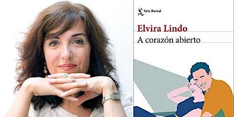 Club de Lectura: 'A corazón abierto', con Elvira Lindo entradas
