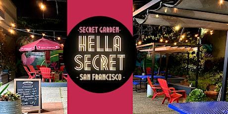 HellaSecret Outdoor Comedy Night @ Secret SF Beer Garden tickets