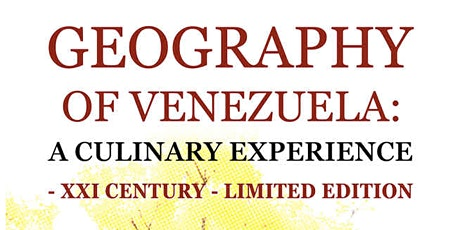 Slow Food Book Club - Geography of Venezuela: A Culinary Experience tickets