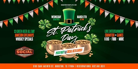 St. Patrick's Day Patio Party tickets
