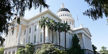 California Legislative Advocacy 101: a free webinar for activists tickets