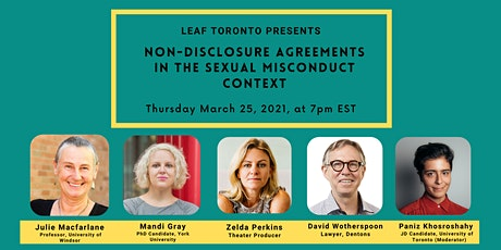 Non-Disclosure Agreements in the Sexual Misconduct Context tickets