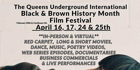 International Black & Brown Film Festival - April 2021 tickets