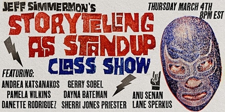 Jeff Simmermon's Storytelling-As-Standup Class Show tickets