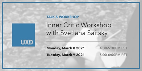 Inner Critic Workshop tickets