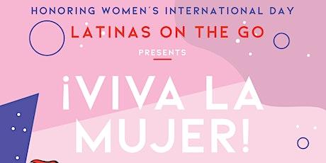 ¡Viva La Mujer! tickets