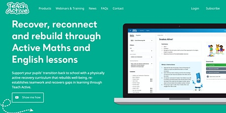 Learn More About Teach Active tickets