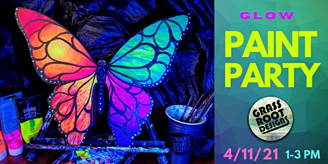 Neon Butterfly  [GLOW PAINT PARTY!] tickets
