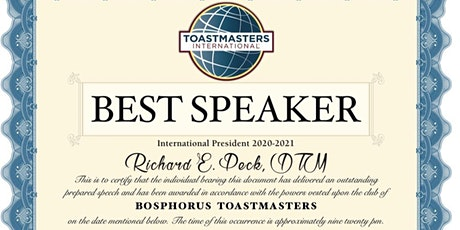 Toastmasters Public Speaking & Leadership biglietti