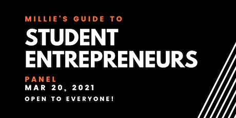PANEL | Millie's Guide to Student Entrepreneurs tickets