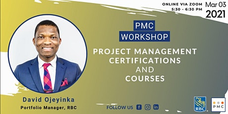 PMC Workshop: Project Management Certifications and Courses tickets