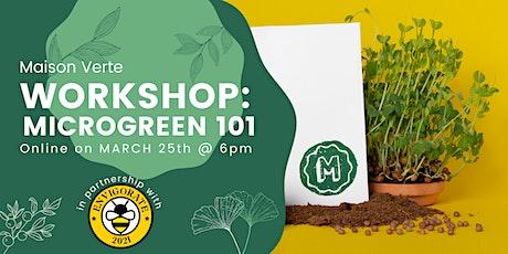 ENVigorate: Microgreen 101 Workshop tickets
