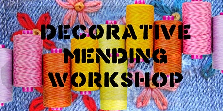 Decorative Mending Workshop tickets