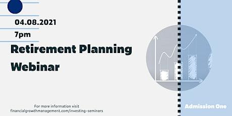 Retirement Planning Webinar tickets