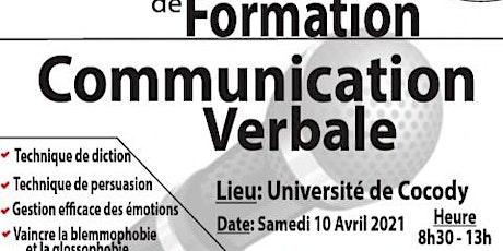 Séminaire de formation en communication verbale billets