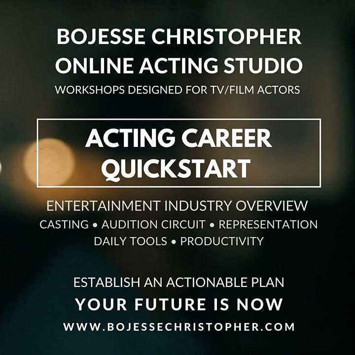 Acting Career Quickstart (TV/Film): Entertainment Industry Overview image