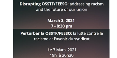 Disrupting Anti-Black Racism in OSSTF/FEESO: AMPA 2021 Candidate's Forum tickets