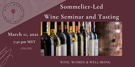 Wine Seminar and Tasting tickets