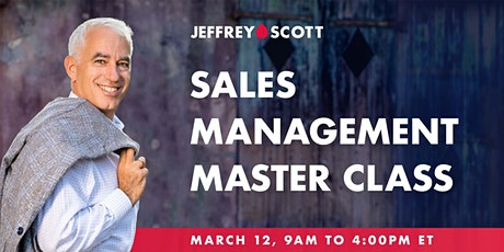 Sales Management Master Class - Build a Winning Sales Team tickets