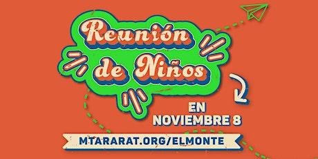 Febrero 28   La reservación de El Monte Kids boletos