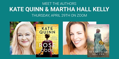 Kate Quinn & Martha Hall Kelly Bestselling Historical Fiction Authors tickets