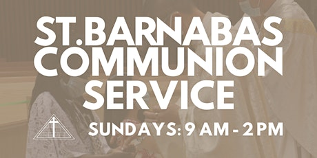 St. Barnabas Communion Service (Last Names A-C) tickets