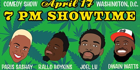 JOKES & FOLKS COMEDY SHOW in Washington, D.C. on SATURDAY 4/17/21 tickets