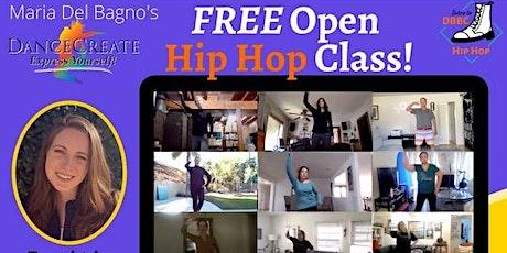 Free Open Hip Hop Dance Class tickets
