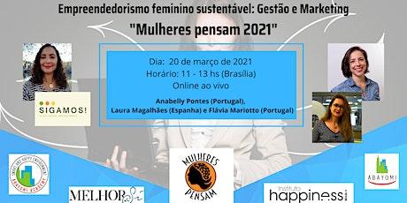 Empreendedorismo feminino sustentável: Gestão e Marketing entradas
