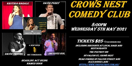 Crows Nest Comedy Club tickets