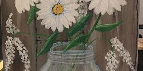 Mason Jar Painting Class @1:00 pm @Ridgewood Winery Birdsboro tickets