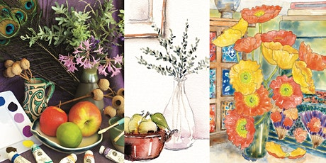 'Still Life Made Simple' Watercolour Workshop tickets