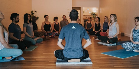 March Guided Meditations with Jake Murry: In Studio or Zoom Options tickets