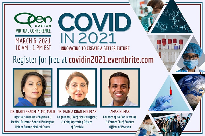 OPEN Boston Virtual Conference: COVID in 2021 image