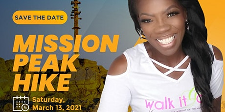 Walk It Off Girl Mission Peak Activity- March 13, 2021 tickets