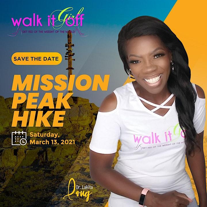 Walk It Off Girl Mission Peak Activity- March 13, 2021 image